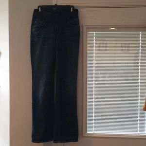 7 for all mankind maternity jeans size 31